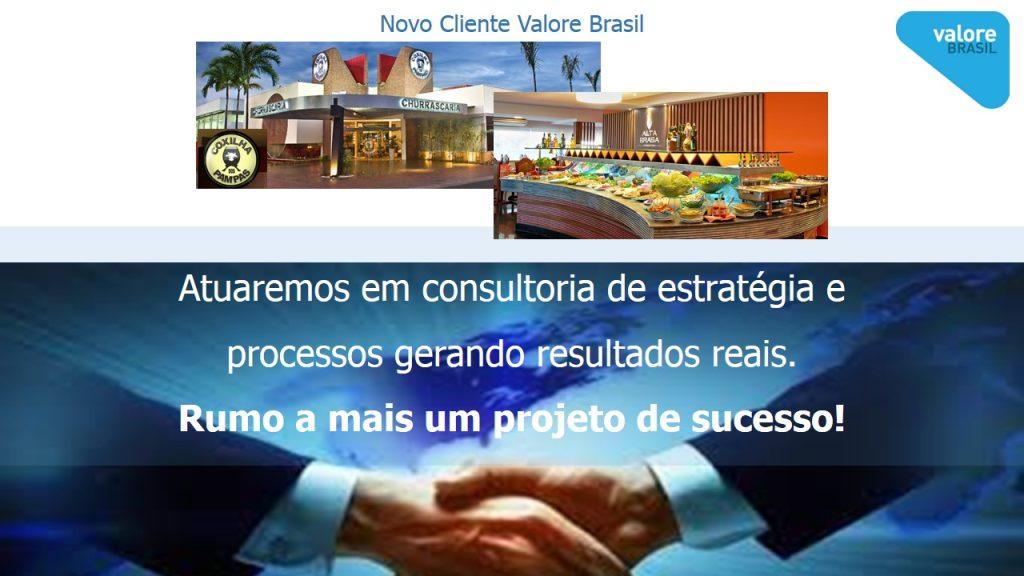 Novo Cliente Coxilha dos Pampase Alta Brasa